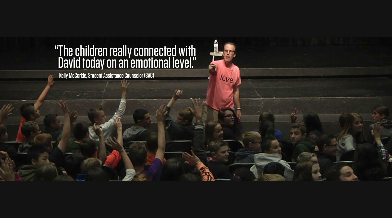 David Flood: Teaching Students to Act with Dignity & Respect
